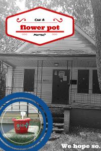 Can a flower pot matter? We hope so.