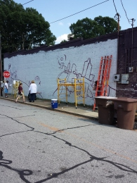 Grove St. Mural @RizMart